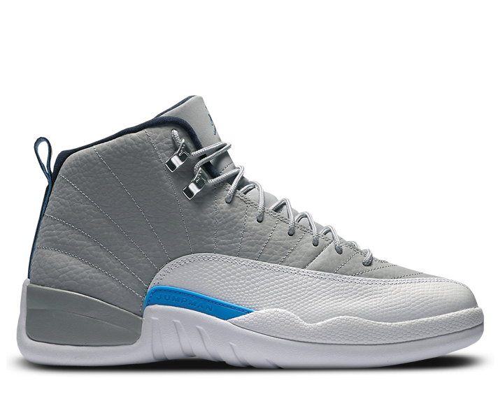 timeless design 09bd8 b18aa Air Jordan 12 Retro – Grey University Blue