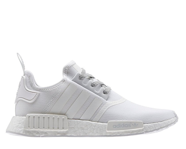 the best attitude cf379 648fe adidas NMD R1 – White Reflective