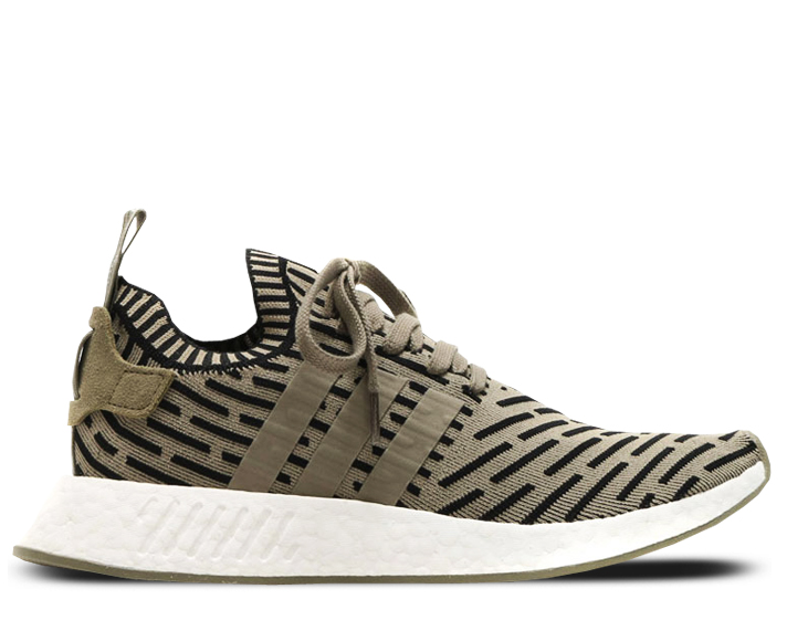 newest dcb56 be393 adidas NMD R2 – Olive Black